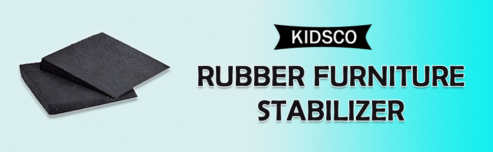 Katzco 6 Piece Rubber Furniture Stabilizer Set Black For Fixing Wobbly Tables Desks Chairs Patio Furniture Nightstands Home Furniture Outdoor And Indoor Furniture And Office Furniture Amazon Com