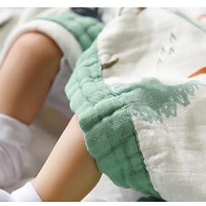 muslin toddler blanket