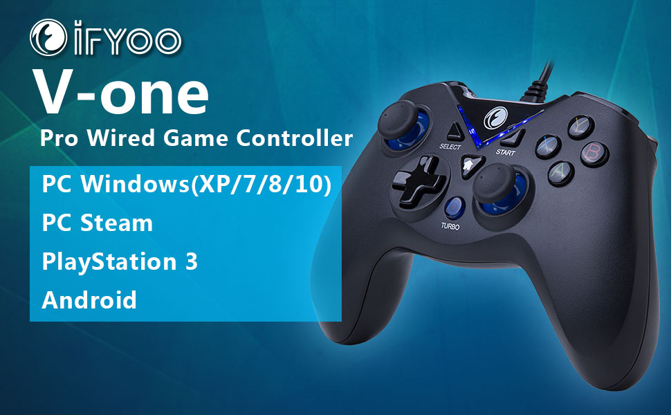 Amazon.com: ZD IFYOO V-one Wired Gaming Controller USB Gamepad ...