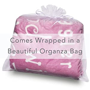 wrapped gift wrap organza gift bag