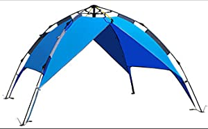 1 Person Camping Tent UV Protection Windproof Waterproof Outdoor Hiking Tent Bag