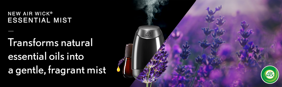 Air Wick Essential Mist Diffuser Mist Kit, Lavender amp; Almond Blossom 1 ea