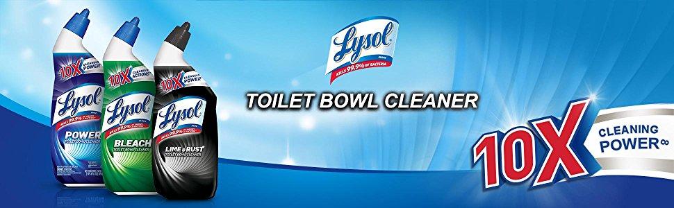Lysol Power Toilet Bowl Cleaner