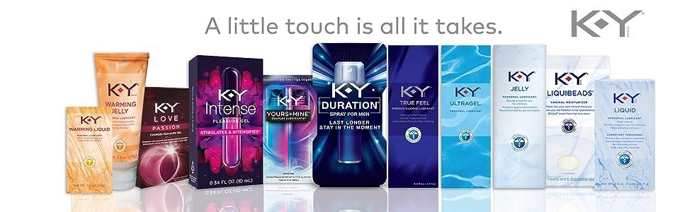K-Y Intense Pleasure Gel Lubricant