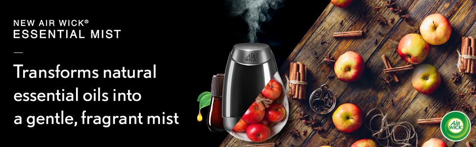 New Air Wick Essential Mist Refill, Cinnamon amp; Crisp Apple 1 ea