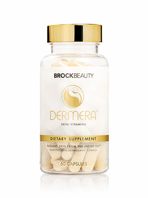 Dermera, hair vitamins, healthy hair, restore your hair. Hair growth, brock beauty, hair supplements