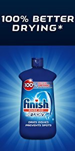 Finish JET-DRY ULTRA Rinse Agent Turbo Formula 32 oz