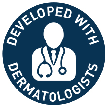 Developed with Dermatologists