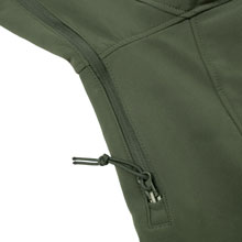 Underarm Ventilation Zipper