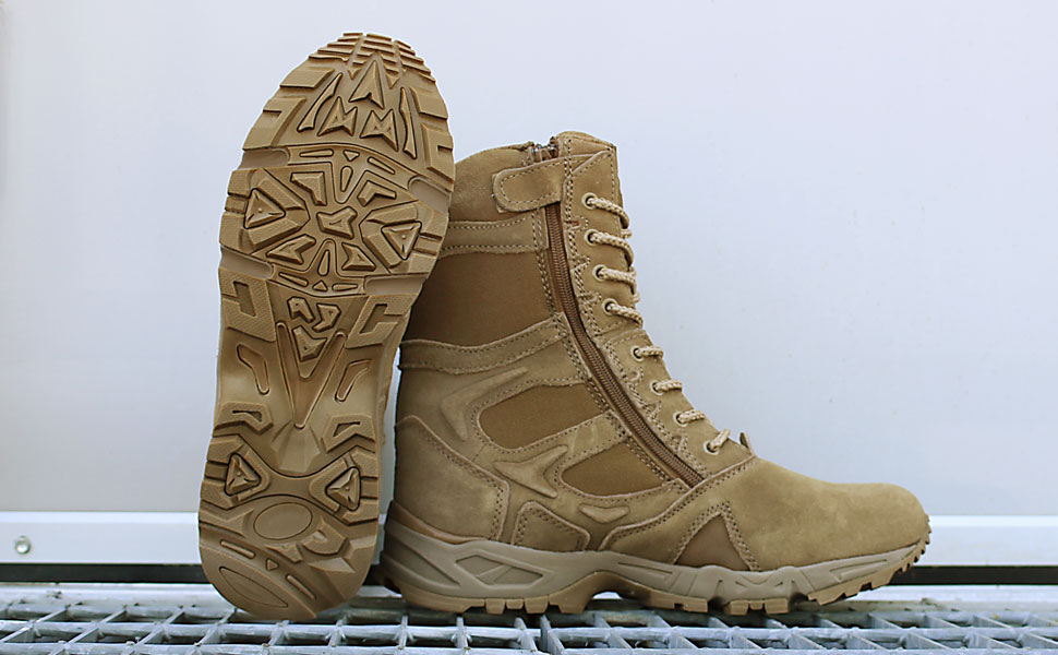 Mountaineer Rubber Outsole Design