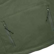 Double Zipper Back Pocket
