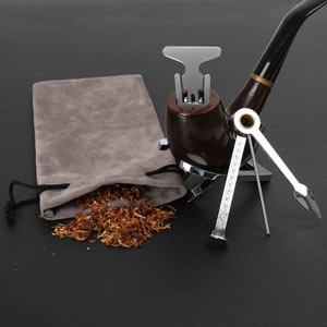 A pipe and cleaning tools