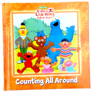 Sesame Street Elmo Learning Adventure preschool readiness education children kids books big bird