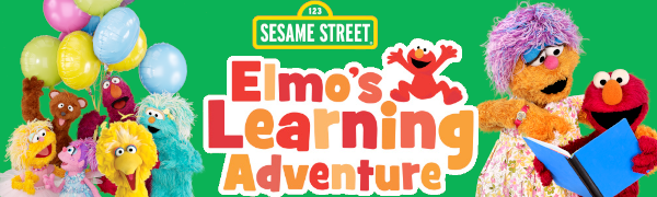 Sesame Street Elmo Learning Adventure Preschool Readiness education cookie monster big bird oscar