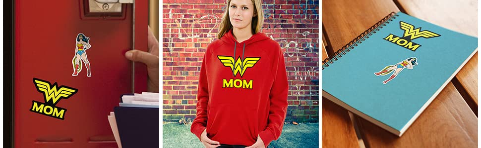 Wonder woman t shirt, Wonder woman Hoodie, Wonder woman stickers