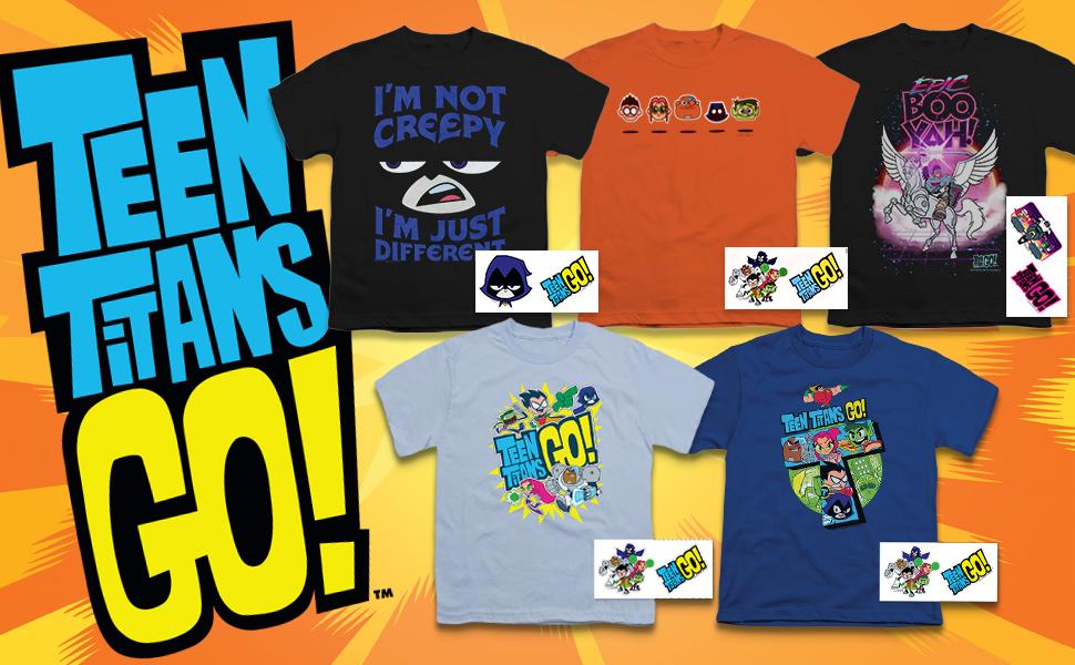 317a22d35f05 Amazon.com  Teen Titans Go! Youth T Shirt  Clothing