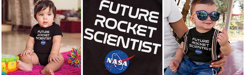 NASA Baby One suit body suit