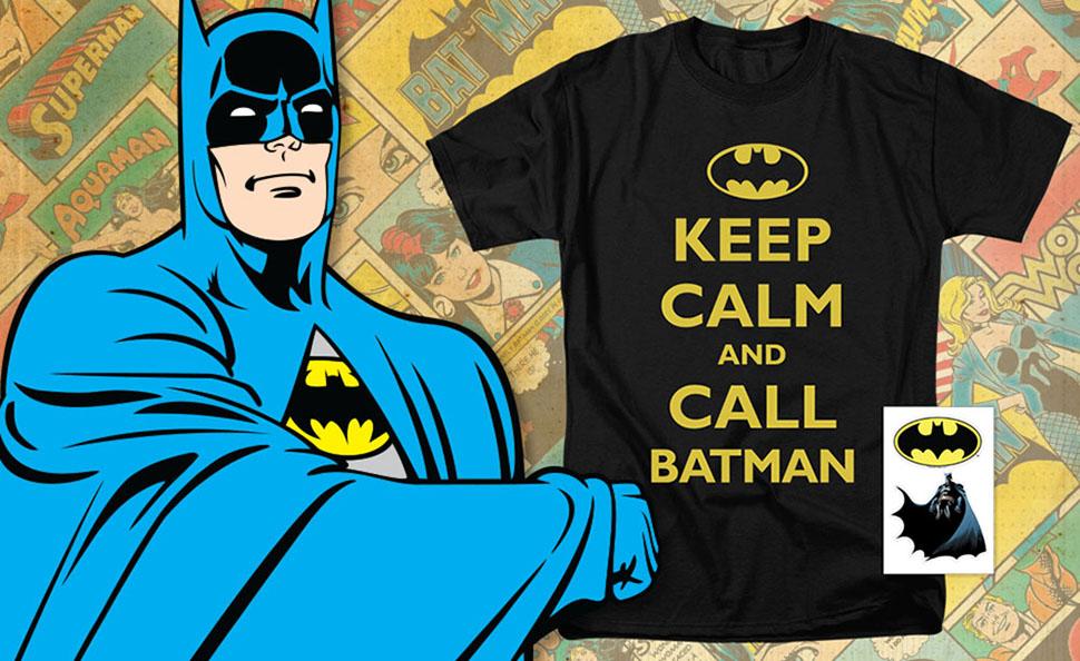 Looking Good Adult Work Shirt Batman