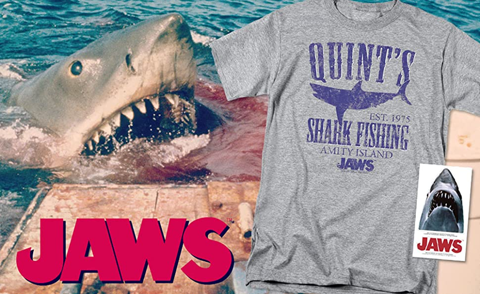 CAPTAIN QUINT/'S FISHING UNOFFICIAL JAWS SHARK FILM LOGO BABY GROW BABYGROW GIFT