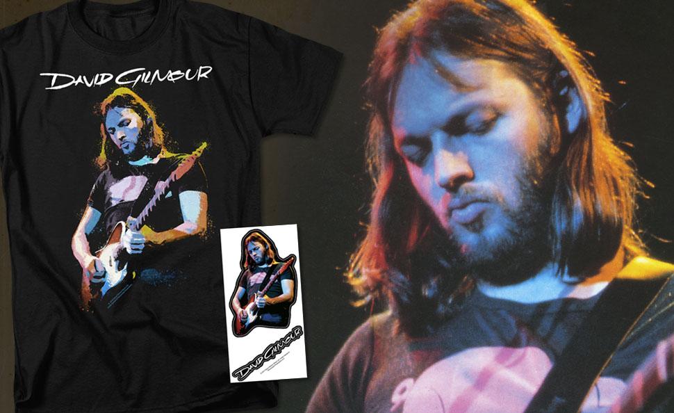 DAVID GILMOUR with Guitar in Concert Licensed Adult Sweatshirt Hoodie