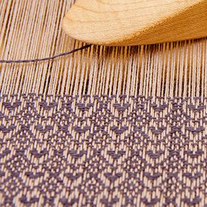 warp thread on loom