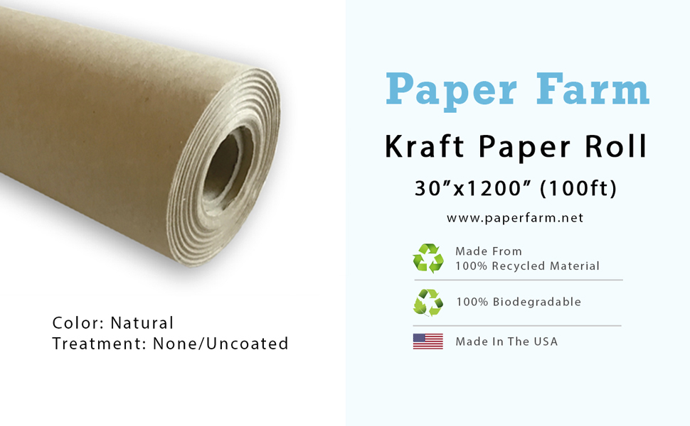 kraft paper recycled biodegradable