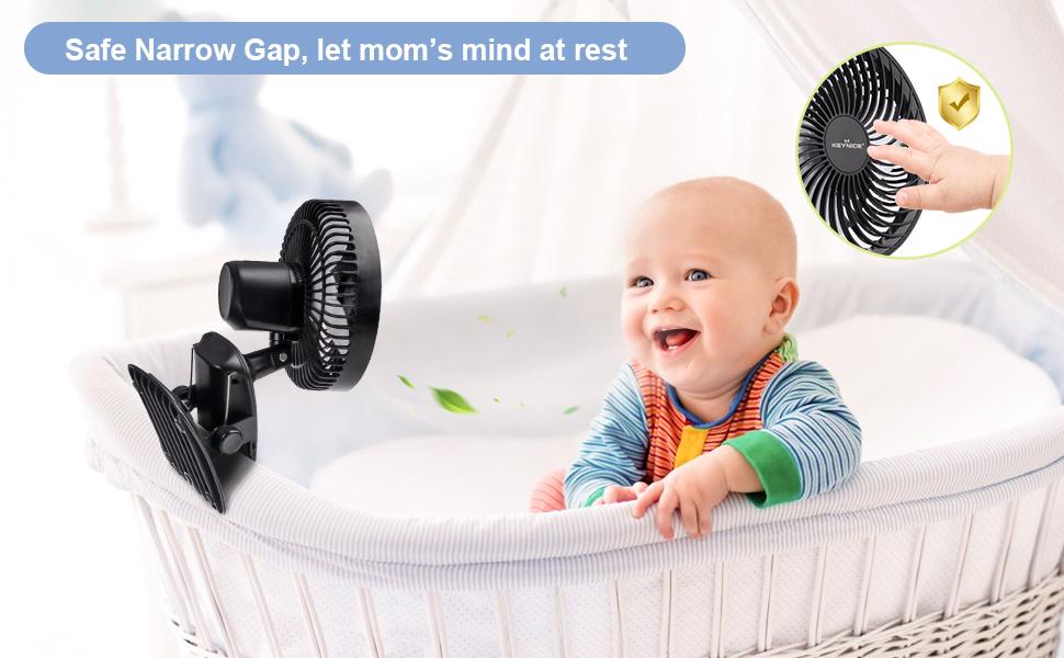 Safe design personal cooling fans