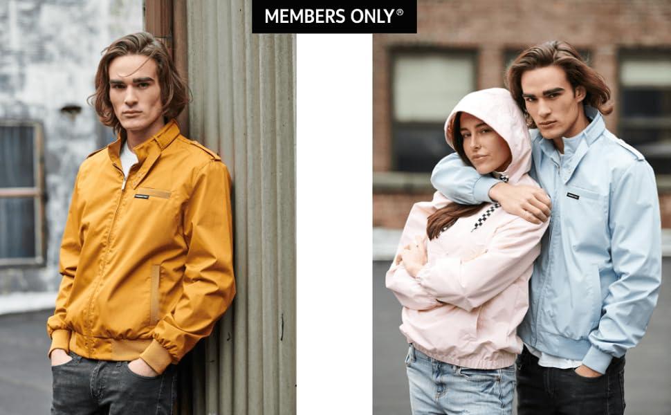 b4d4c609c Members Only Men's Original Iconic Racer Jacket