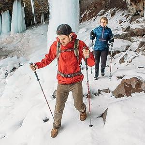 Paria Outdoor Products Tri-Fold Carbon Cork Trekking /& Hiking Poles//Walking