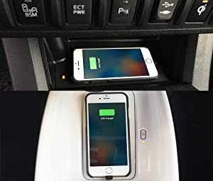 2015 Chevy Silverado Switch Panel >> Amazon.com: BEZALEL 2017 Latitude iPhone 7 Universal Qi Wireless Charging Case for GMC Yukon ...