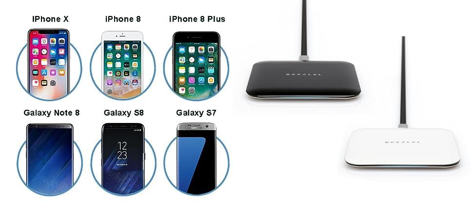 Amazon.com: Wireless Charger, BEZALEL Futura X Thinnest Qi
