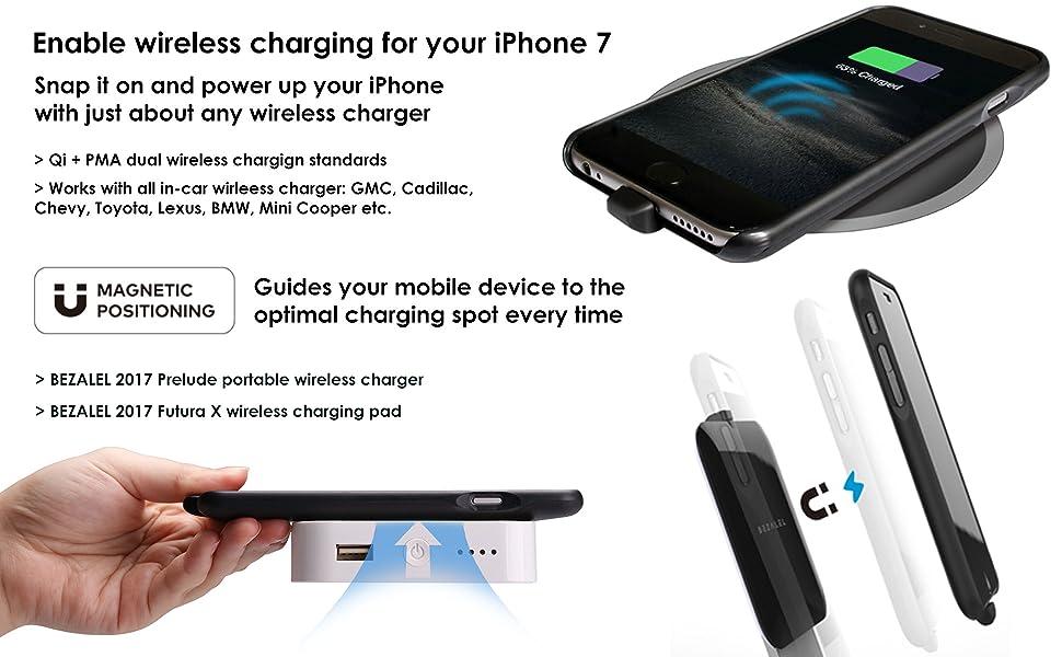Amazon.com: BEZALEL 2017 Latitude iPhone 7 Universal Qi Wireless Charging Case for GMC Yukon ...