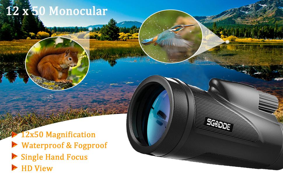 Monocular telescope polaris optics explorer high powered