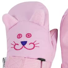 too cute insulated waterproof mittens snowballs sledding recess outdoors fun playtime ice windy cold