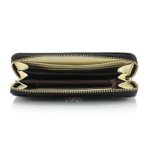 GEARONIC TM Women Wallet Long Clutch Faux Leather Card Holder Fashion Purse Lady Woman Handbag Bag