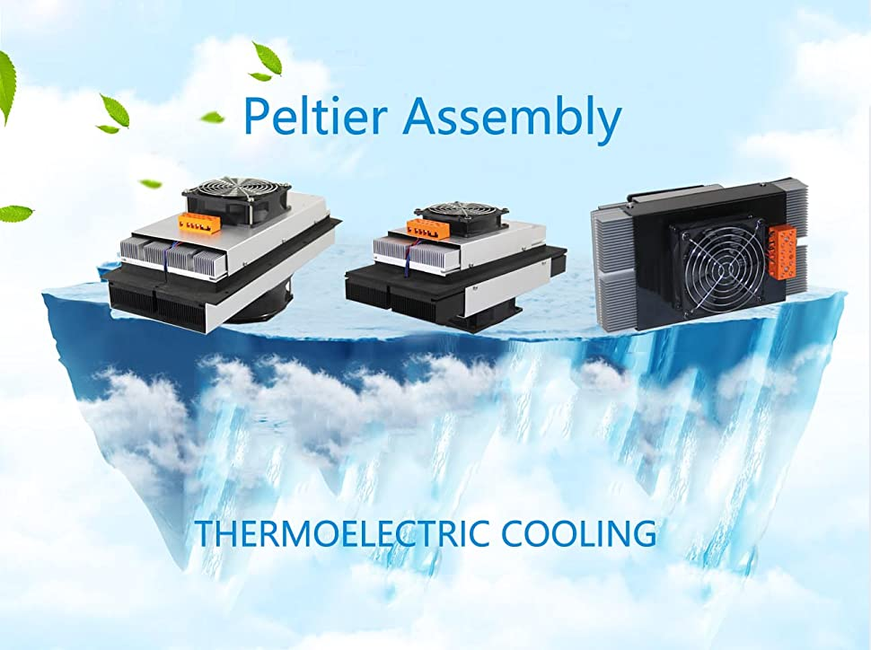 Peltier+Temperature Controller P/&N TECHNOLOGY Thermoelectric Peltier Refrigeration Cooling System Kit R/&D Thermoelectric cooler