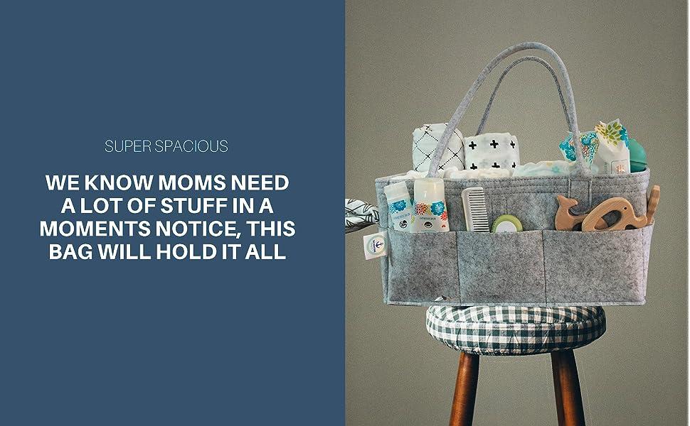 Amazon.com: Caddy organizador de pañales de bebé por la ...
