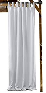 Outdoor Curtain tap top