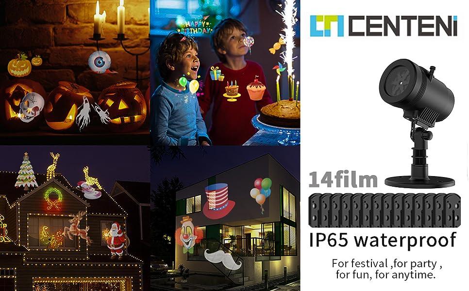 Centeni Led Christmas Light Projector 14
