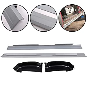 Motor City Sheet Metal Works With 2001-2006 Chevy Silverado 4DR Crew Cab Rear Door Lower Door Skin Driver Side