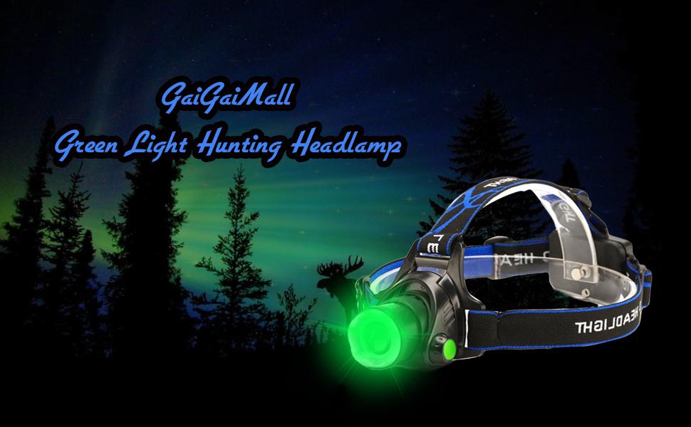 greem headlamp