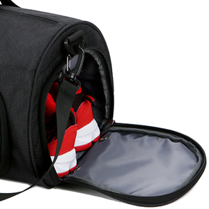 Mouteenoo Gym Bag Small Sports Duffel Bag for Men and Women with Separate Shoes Compartment