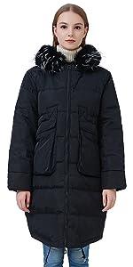 Women's Coats Parka Jacket