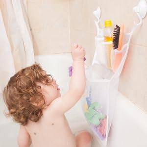 shower net kids bath toys kids storage organizer toys organizer storage