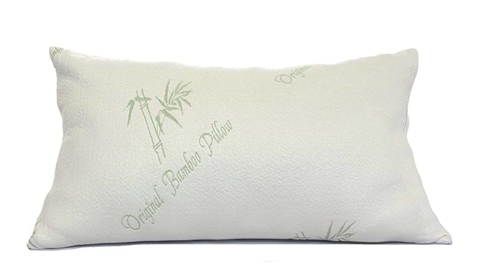 king adjustable bamboo shredded memory foam pillow original bamboo