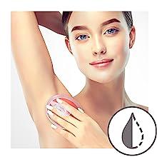 Dylonic Exfoliating Brush armpits underarms ingrown hair remover