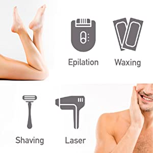 Dylonic Exfoliating Brush Hair removal aid use before shaving or waxing