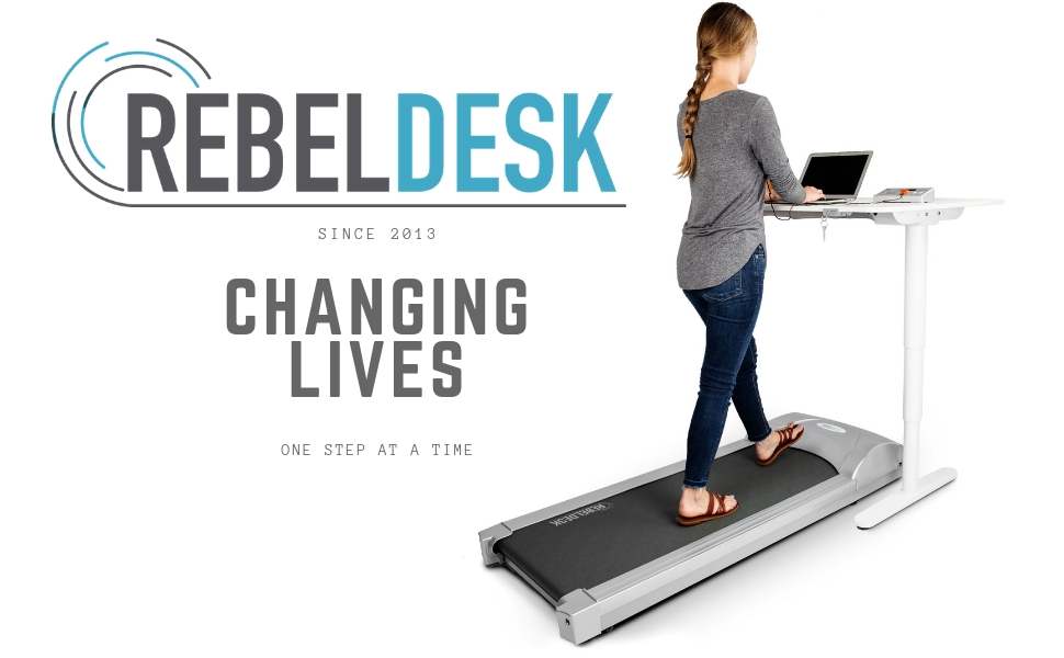 Rebel Desk Under Desk Treadmill