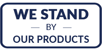 We Stand by our Products