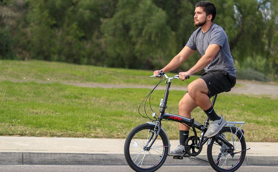 Clevr folding bike